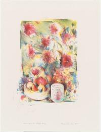 Richard Hamilton, 'Flower Piece B, crayon study', 1976, National Gallery of Australia