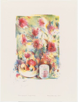 Richard Hamilton, 'Flower Piece B, crayon study', 1976, National Gallery of Australia