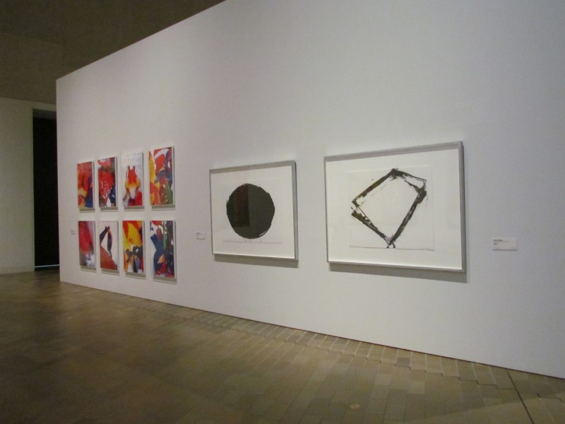 Serra in the Contemporary gallery