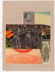 Robert Rauschenberg, Horsefeathers thirteen - X, 1972