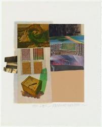 Robert Rauschenberg, Horsefeathers thirteen - II, 1972