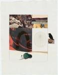 Robert Rauschenberg, Horsefeathers thirteen - VI, 1972