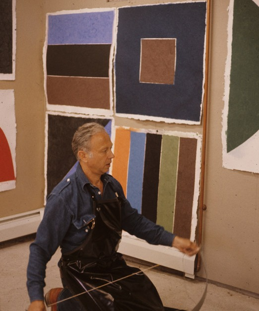 Ellsworth Kelly S Colored Paper Images Beyond Print