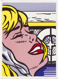 Roy Lichtenstein, Shipboard girl, 1965, National Gallery of Australia, Canberra