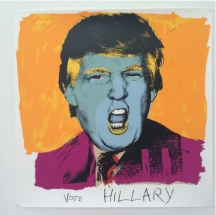 Deborah Kass 'Vote Hillary'