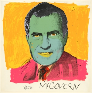 Andy Warhol 'Vote McGovern'