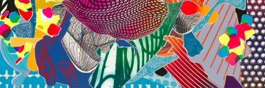 Frank Stella, 'Feneralia'