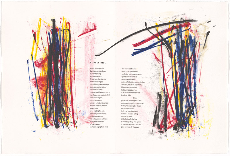 Joan Mitchell, Cobble hill from the 'Poems' portfolio 1992