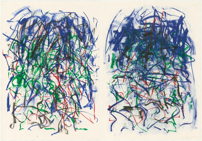 Joan Mitchell, Sunflowers II 1992