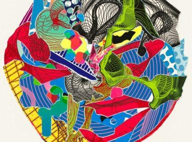 Frank Stella 'Dubiaxo' from the 'Imaginary places II' series 1996
