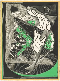 Frank Stella, 'Jonah historically regarded' from the 'Moby Dick engravings' series 1991, trial proof IV/IV