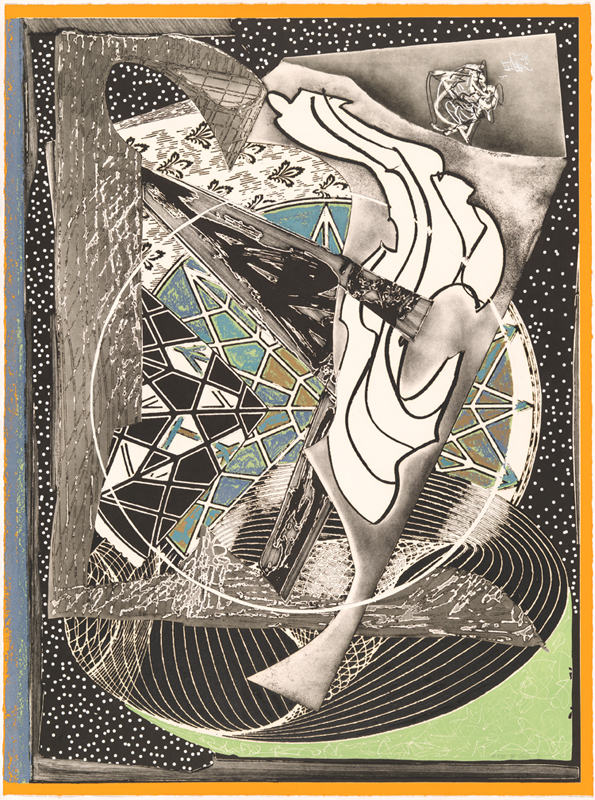 Frank Stella, 'Jonah historically regarded, state I' from the 'Moby Dick engravings' series 1991, artist's proof 3/8,