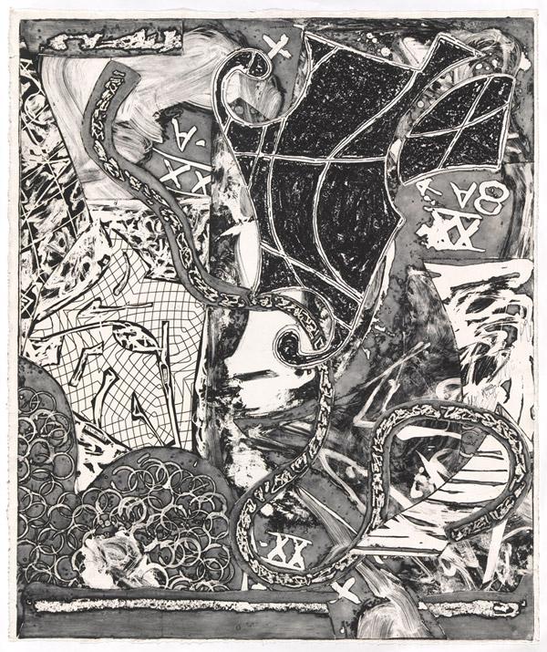 Frank Stella, 'Swan engraving V', 1985