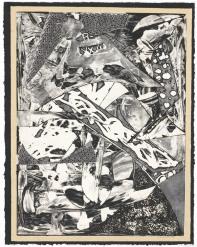 Frank Stella, 'Swan engraving framed I', trial proof 1985